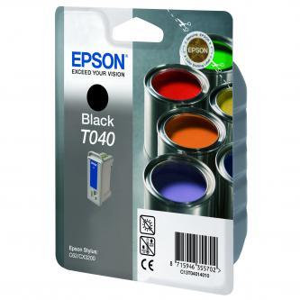 Epson C13T040140, black, 420str., Epson Stylus C62, CX3200