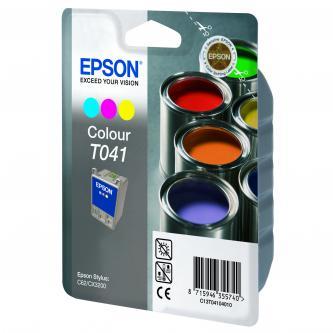 Epson T041 - originální toner, C13T041040, color, 300str.