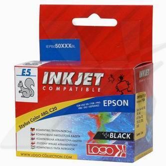 Epson T0520 - kompatibilní čená inkoustová náplň Logo pro Epson Stylus Color 440, 480, 500, 660, Photo 700, 1200 (13 ml)