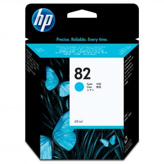 HP No. 82 Cyan Ink Cartridge for HP DSJ 500, 800, 69 ml, C4911A