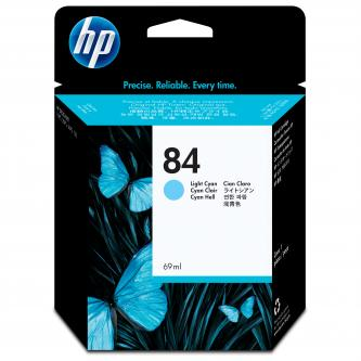 HP No. 84 Light Cyan ink Cartridge pro DSJ x0ps, 69 ml, C5017A