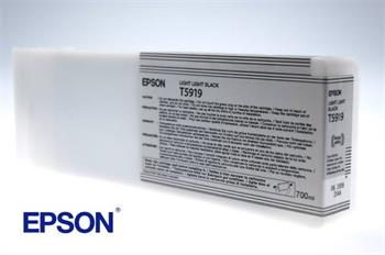 Epson T5919 - originální světle černý inkoust, 700ml, Epson Stylus Pro 11880