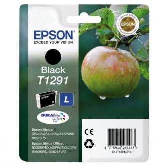 Epson C13T12914021, T1291, black, 420str., 11,2ml, blistr, Epson Stylus SX420W, 425W, Stylus Office BX305F, 320FW