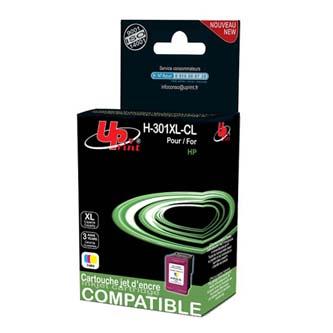 UPrint kompatibilní ink s CH564EE, No.301XL, color, 21ml, H-301XLC, pro HP HP Deskjet 1000, 1050, 2050, 3000, 3050