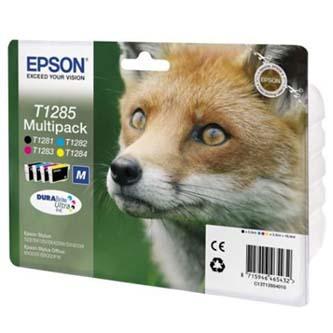 Epson C13T12854020, T1285, CMYK, 16,4ml, blistr, Epson Stylus S22, SX125, 420W, 425W, Stylus Office BX305