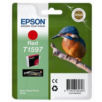 Epson C13T15974010, red, 17ml, Epson Stylus Photo R2000