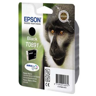 Epson C13T08914021, black, 5,8ml, blistr s ochranou, Epson Stylus S20, SX100, SX200, SX400