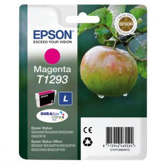 Epson C13T12934021, T1293, magenta, 485str., 7ml, blistr, Epson Stylus SX420W, 425W, Stylus Office BX305F, 320FW