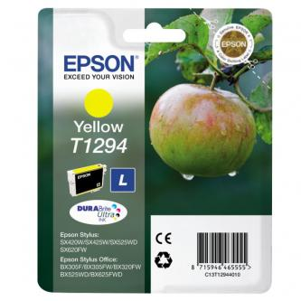 Epson C13T12944021, T1294, yellow, 485str., 7ml, blistr, Epson Stylus SX420W, 425W, Stylus Office BX305F, 320FW