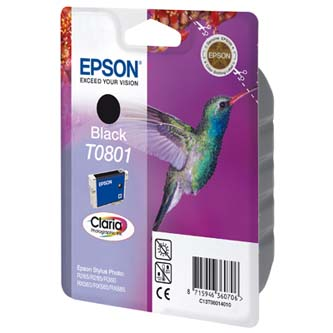 Epson C13T08014011, black, 7,4ml, Epson Stylus Photo PX700W, 800FW, R265, 285, 360, RX560