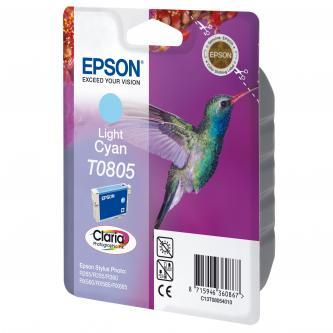 Epson C13T08054011, light cyan, Epson Stylus Photo PX700W, 800FW, R265, 285, 360, RX560