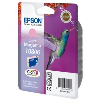Epson C13T08054021, light cyan, blistr s ochranou, Epson Stylus Photo PX700W, 800FW, R265, 285, 360, RX560
