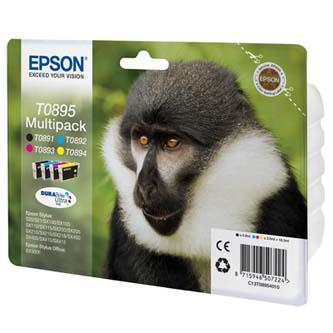 Epson C13T08954010, CMYK, 3x3,5/5,8ml, Epson Stylus S20, SX100, SX200, SX400