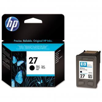 HP C8727A - originální, No.27, black, 10ml, HP DeskJet 3420, 3325, 3550, 3650