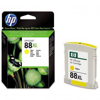 HP C9393AE, No.88XL, yellow, 1200str., 17,1ml, HP OfficeJet Pro K5400, L7580, L7680, L7780