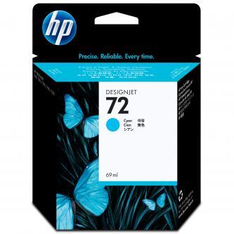 HP No. 72 Cyan Ink Cartridge pro DJ T1100, 69 ml, C9398A