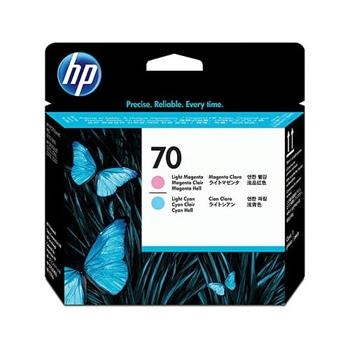 HP No. 70 Light Cyan and Light Magenta Printhead pro DJ Z2100, C9405A
