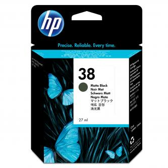 HP Ink Cart Matte Black No. 38 pro Photosmart Pro B9180, 27 ml, C9412A