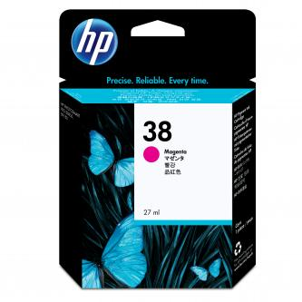 HP Ink Cart Magenta No. 38 pro Photosmart Pro B9180, 27 ml, C9416A
