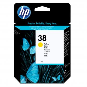 HP Ink Cart Yellow No. 38 pro Photosmart Pro B9180, 27 ml, C9417A