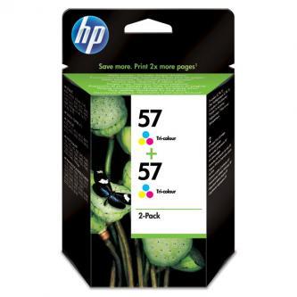 HP Ink Cart Color pro DJ 5550, PS 7x50, 2-pack C6657, 2 x 17 ml, C9503AE
