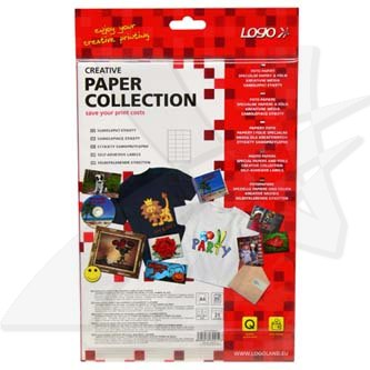 Logo 32210 etikety 63 x 39.5 mm, A4, matné, bílé, 140g/m2, baleno po 25 ks, pro inkoustové a laserové tiskárny