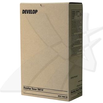 Toner Develop TN-114, Develop D1531ID, 1536ID, 1650ID, 1831ID, 2050ID, ineo 161, 2x413g, black, 22000str. (8937786)