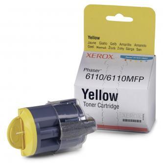Xerox 106R01204 - originální žlutý toner pro Xerox Phaser 6110/MFP 6110 (1.000 str)