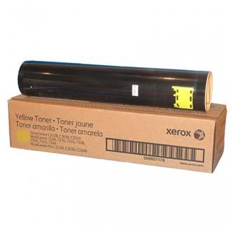 Toner Xerox 006R01178, originální, žlutý (yellow), 16000 str