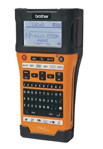 Brother PTE550WVPYJ1 - Tiskárna samolepicích štítků Brother PT-E550WVP s kufrem