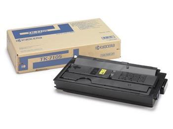 Toner Kyocera TK7105, black, 20000str., Kyocera TasKalfa 3010i