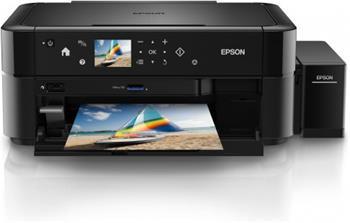 Epson L850 - Barevná inkoustová multifunkční tiskárna, tankový systém, USB, oddělené nápln