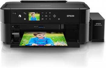 Epson L810 - Inkoustová barevná tiskárna, tankový systém, oddělené náplně, USB.