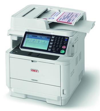 OKI 45762122 - Laserová černobílá tiskárna multifunkční, LED, A4