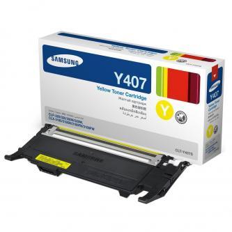 Samsung CLT-Y4072S - originální žlutý toner, HP SU472A, 1000str., pro CLP-320, 325, CLX-3185