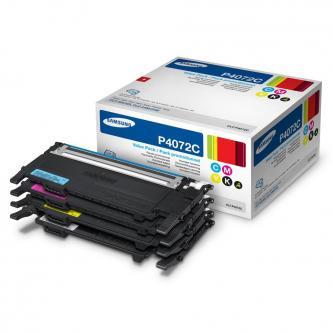 Samsung CLT-P4072C - originální sada tonerů, CMYK, 1500/1000str., pro CLP-325, CLX-3185