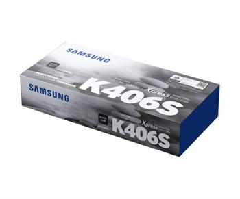 Samsung CLT-K406S - originální černý toner, HP SU118A, 1500str., pro CLP-360, 365, CLX-3300, 3305