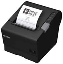 Epson TM-T88V - černá pokladní tiskárna, USB + serial, zdroj, kabel