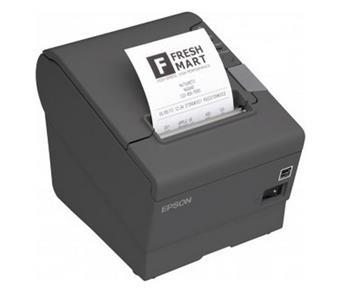 Epson TM-T88V - Pokladní tiskárna Epson TM-T88V, USB + WiFi., zdroj, kabel (tmavá)