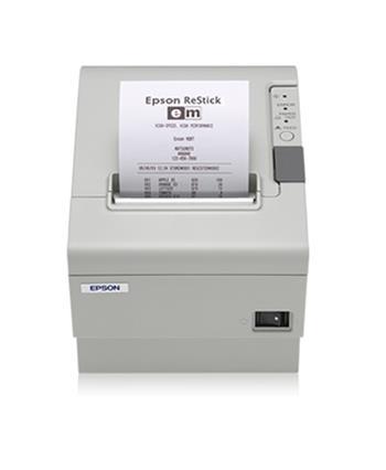 Epson TM-T88V C31CA85031B0 - Pokladní tiskárna, USB + WiFi., zdroj, kabel (světlá)