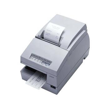 EpsonTM-U675 sériová jehličková pokladní tiskárna, bez zdroje, bílá, CZ