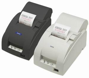 EPSON TM-U220PA - Jehličková pokladní tiskárna, paralel, světlá, se zdrojem