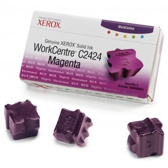 Xerox 108R00661 - originální purpurová inkoustová náplň Xerox WC2424 ( 3 kusy)