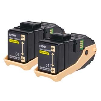 Toner Epson C13S050606 žlutý (yellow), 15000str., Epson Aculaser C9300N, double pack