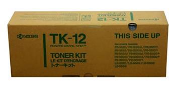 Toner Kyocera TK12, black, 10000str., Kyocera Mita FS-1550, 1600, 3400, 3600, 6500