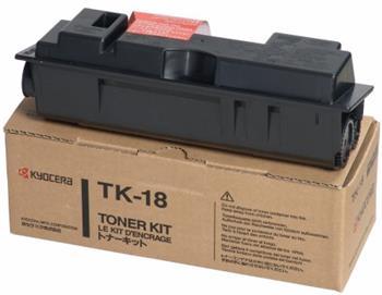 Toner Kyocera TK18, black, 7200str., Kyocera Mita FS-1018MFP, FS-1118MFP, FS-1020D