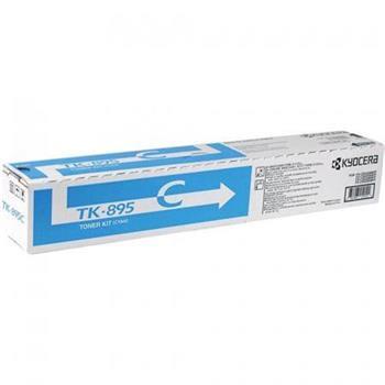 Toner Kyocera TK895C, cyan, 6000str., Kyocera Mita FS-C8020MFP