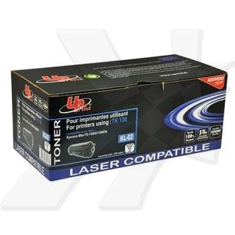 UPrint kompatibilní toner s TK130, black, 7200str., KL-02, pro Kyocera Mita FS-1300D, 1300N, 1350DN, 1028MFP, 1128MFP