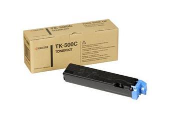 Toner Kyocera TK500C, cyan, 8000str., Kyocera Mita FS-C5016N