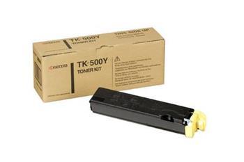 Toner Kyocera TK500Y, yellow, 8000str., Kyocera Mita FS-C5016N